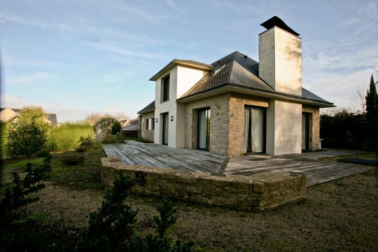 Baden. Beautiful and modern house with seaview.